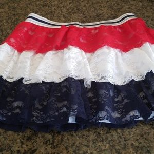 Other - Red white and blue skirt